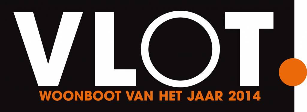 VLOT woonboot van het jaar logo